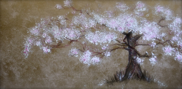 Tree-Cherry-painting